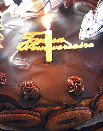 Gateau Chocolat Anniversaire